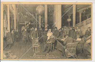 Recreation Room - U.S. Debarkation Hospital No. 3