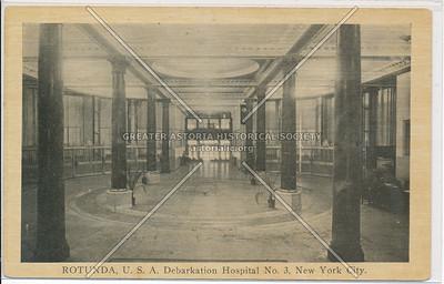 ROTUNDA, U.S.A. Debarkation Hospital No. 3, New York City