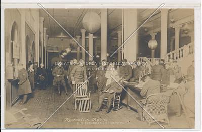 Recreation Room - U.S. Debarkation Hospital #3