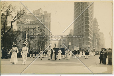 Suffragette Parade? In Madison Sq