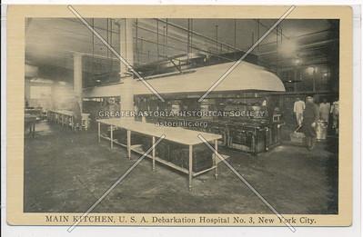 MAIN KITCHEN, U.S.A. Debarkation Hospital No. 3, New York City