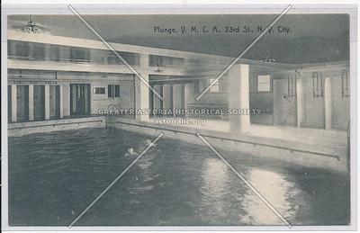 Pool - Y.M.C.A., 23rd St., N.Y. City