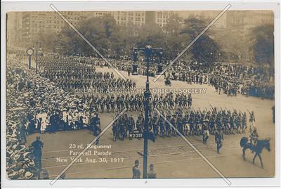 23rd Regiment, Farewell Parade, Aug 30, 1917 Madison Sq