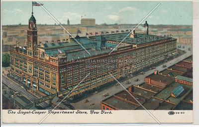 The Siegel-Cooper Department Store, New York