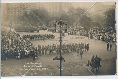 1st Regiment Farewell Parade  8/30/17