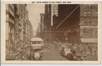 Fifth Avenue at 25th Street