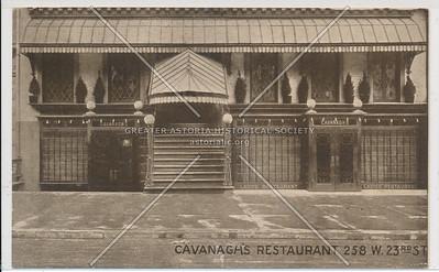Cavanagh's Resturant, 258 W. 23rd Street
