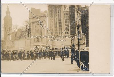 Isle of Liberty, WW I Monument?, Madison Sq, 5th Ave, NY