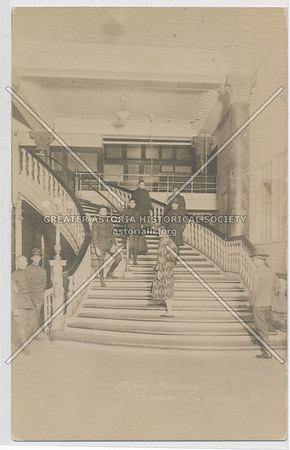 Main Stairway - U.S. Debarkation Hospital #3