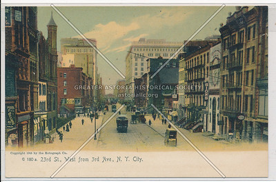 23rd St. , West from 3rd Ave., N.Y. City