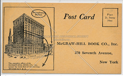 McGraw-Hill Book Co., Inc., 370 7th Ave, NYC