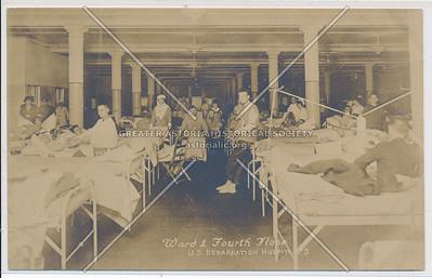 Ward 1 Fourth Floor - U.S. Debarkation Hospital #3