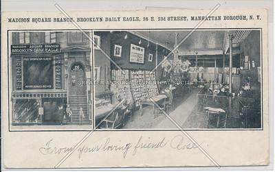 Madison Square Branch, Brooklyn Daily Eagle , 26 E 23 St, NY