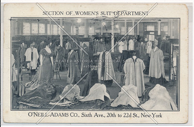 Section of Women's Suit Department - O'Neill-Adams Co. , 21st St & 6th Ave, NY