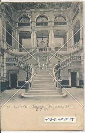 Marble Court, Metropolitan Life Insurance Building