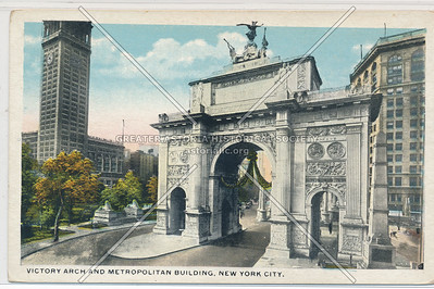 Victory Arch on 5th Ave 1919