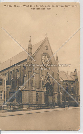 Trinity Chapel, 25th St, B'way, NYC