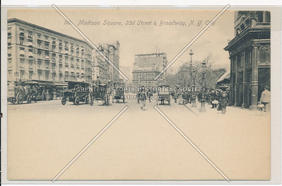 Madison Square, 23rd Street & Broadway