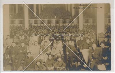 Auditorium - U.S. Debarkation Hospital #3