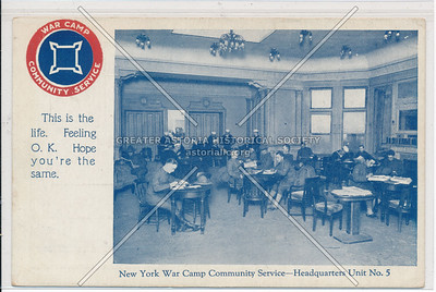 New York War Camp Community Service - Headquarters Unit No. 5