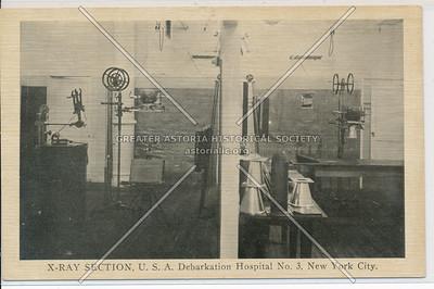 X-RAY SECTION, U.S.A. Debarkation Hospital No. 3, New York City