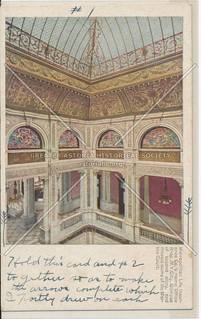 Metropolitan Life Insurance Co.'s Home Office, 2nd Floor Dome