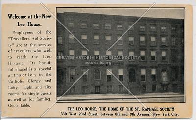 The Leo House, of the St. Raphael Society 330 W 23 St, NY