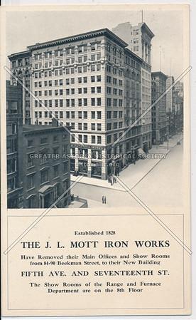 The J.L. Mott Iron Works, 5th Ave & 17th St, NY