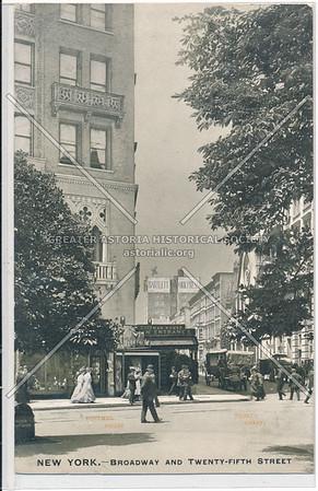 Broadway and Twenty-Fifth Street