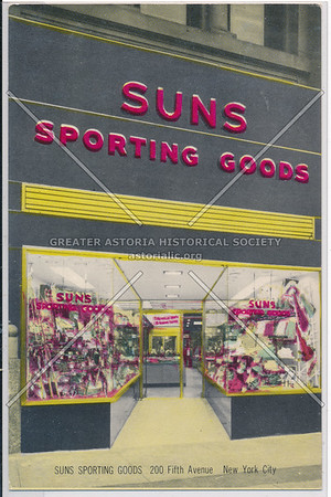 SUNS SPORTING GOODS, 200 5th Ave, NY