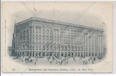 Metropolitan Life Insurance Building, 23 Street