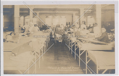 Ward 2 Fourth Floor - U.S. Debarkation Hospital #3