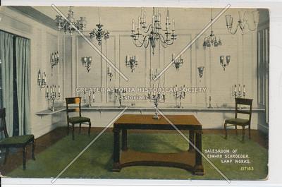 Salesroom - Edward Schroeder Lamp Works, 200 5th Ave, NY
