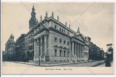 New Court House, Madison & 25 St, NY