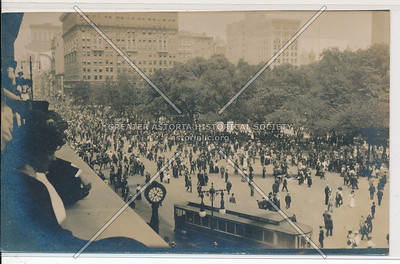 NYC Police Parade, May 15, 1920 Fallon Photo