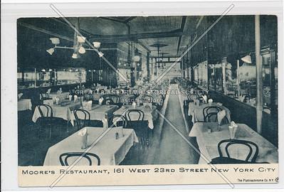 Moore's Restaurant, 161 W 23 St, NY