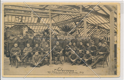 Solarium - U.S. Debarkation Hospital No. 3