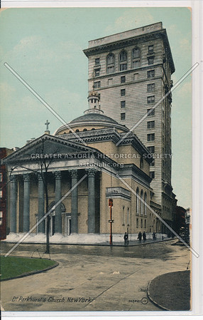 Dr. Parkhurst's Church, Madison Sq, NY