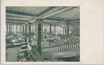 Main Floor - Siegel Cooper Co. New York, 6th Av & 18th St, NY
