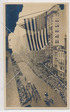 First World War Parade on Fifth Ave, NYC