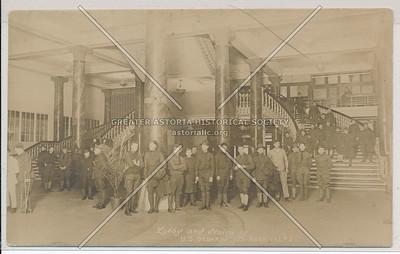 Lobby and Stairway - U.S. Debarkation Hospital #3