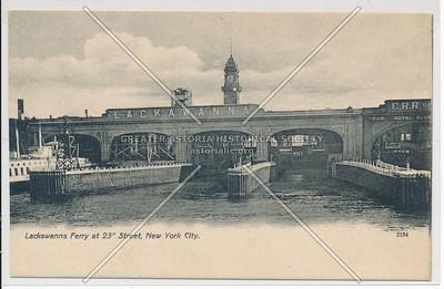 Lackawanna Ferry, 23 St, NY