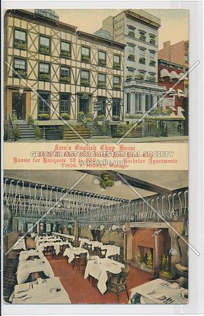 Keens Chop House, W 44th St, NYC