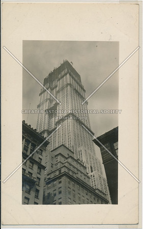 Building of the Empire State Building