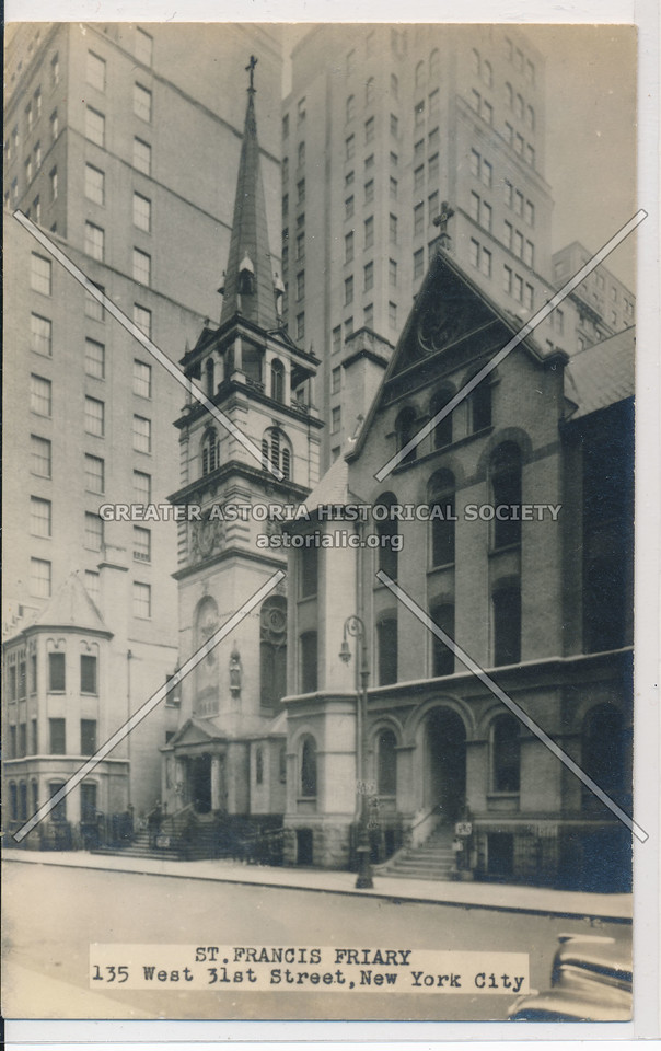 St Francis Friary Church, 135 W 31 St, NYC