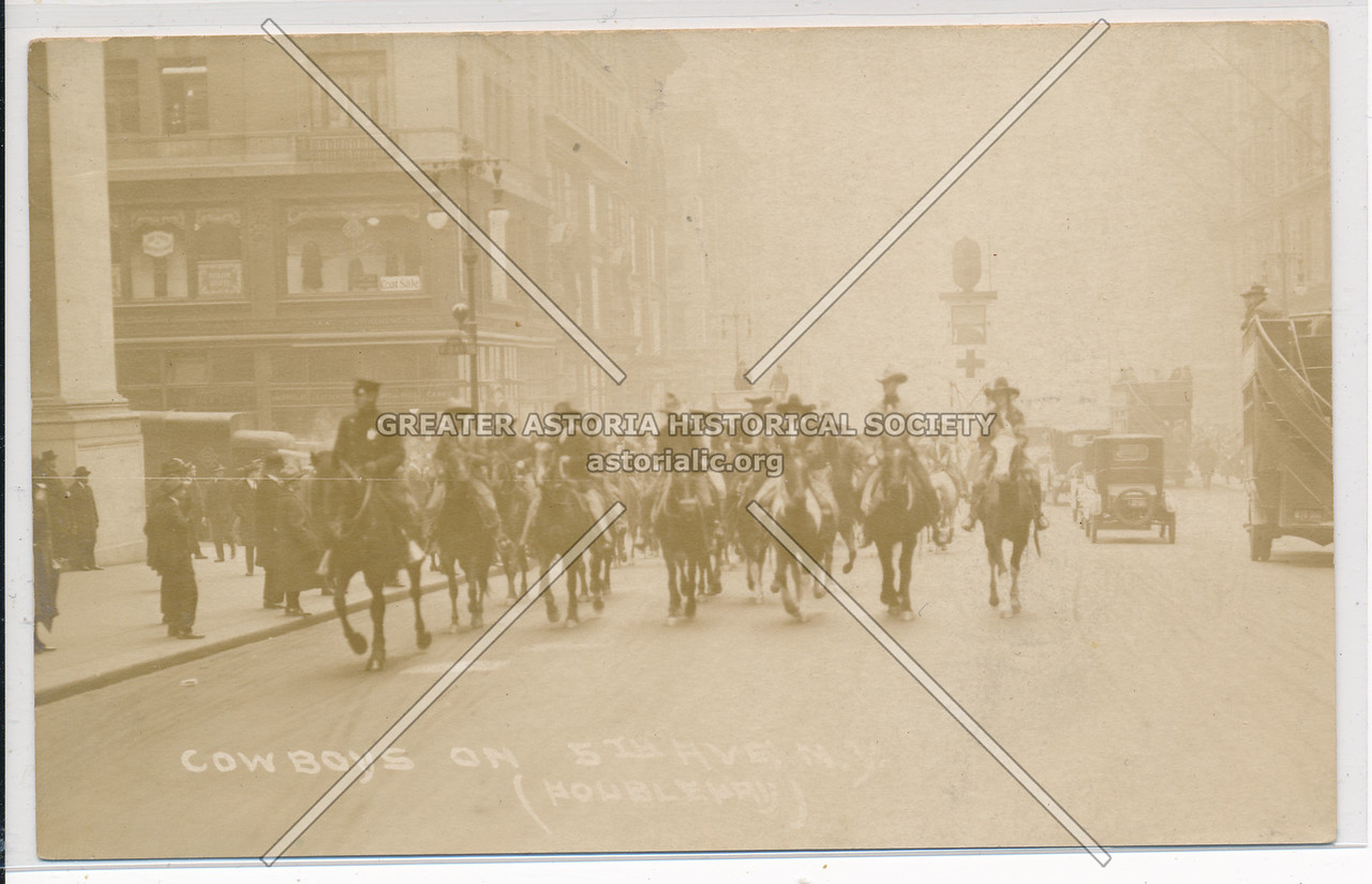 Cowboys on 5th Ave (Police Parade)