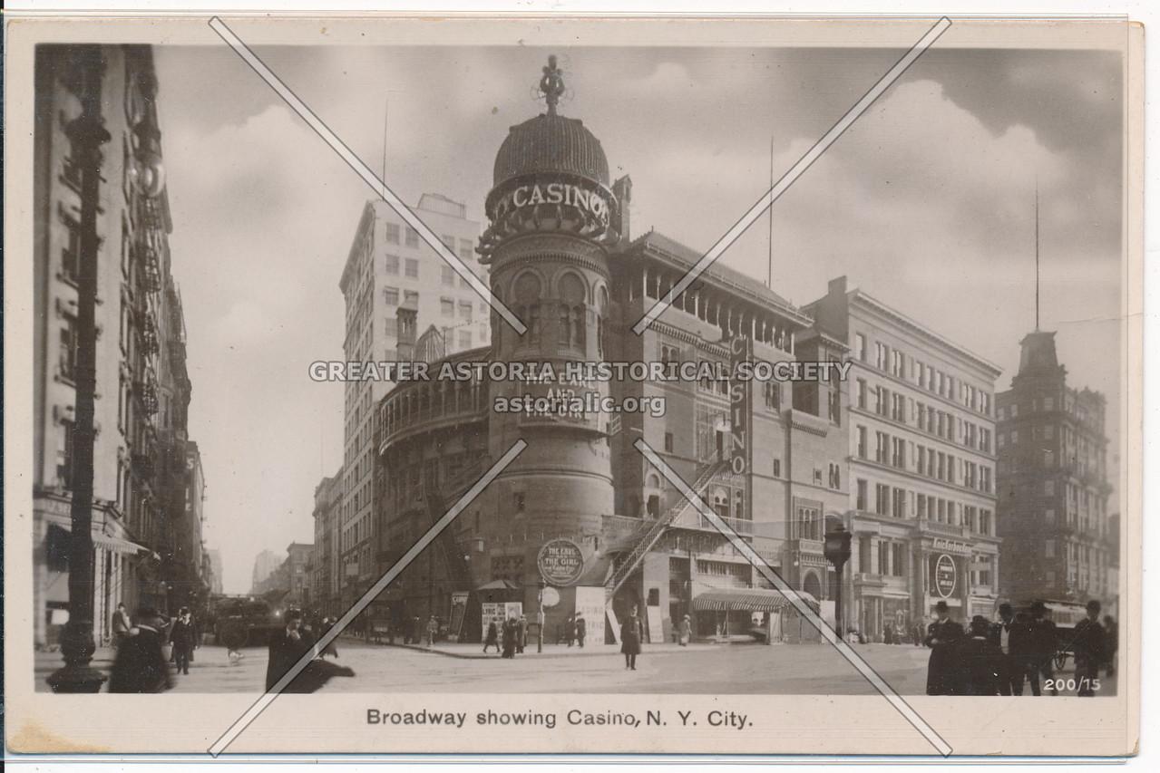 Broadway Showing Casino
