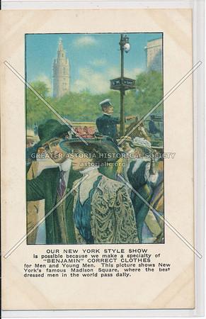 Men's Suit Ads (c. 1910)