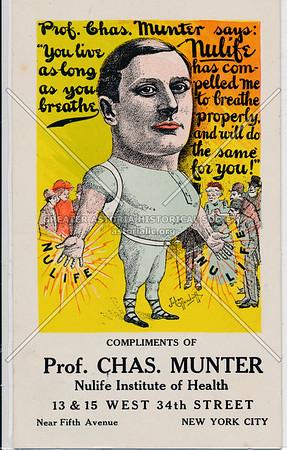 Charles Munter, Druggist