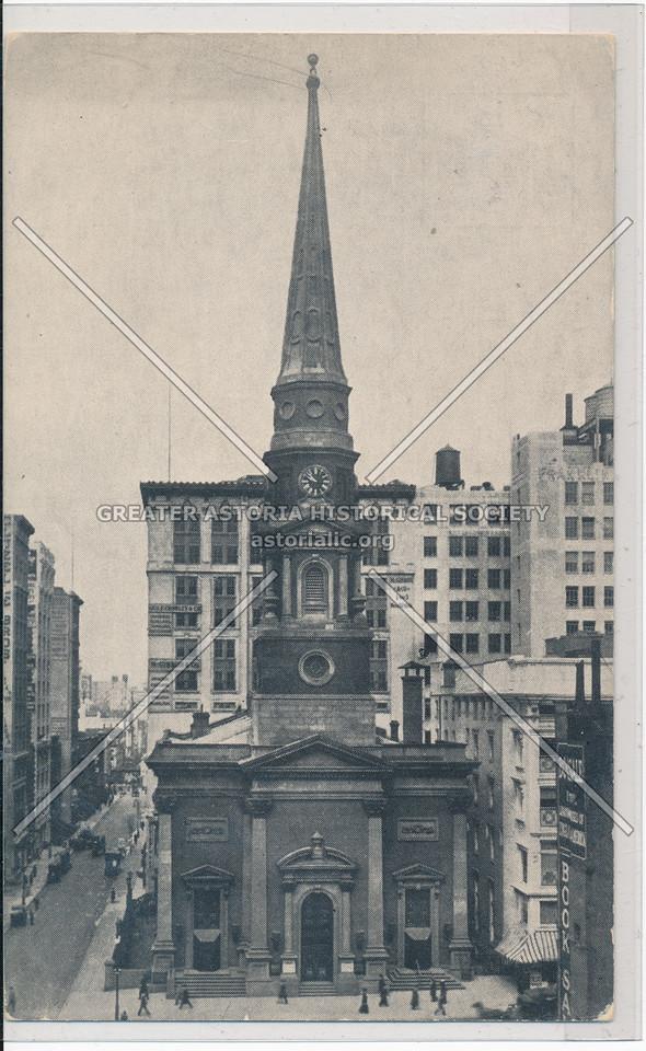 Brick Church, 5th Ave at 37th St, NYC